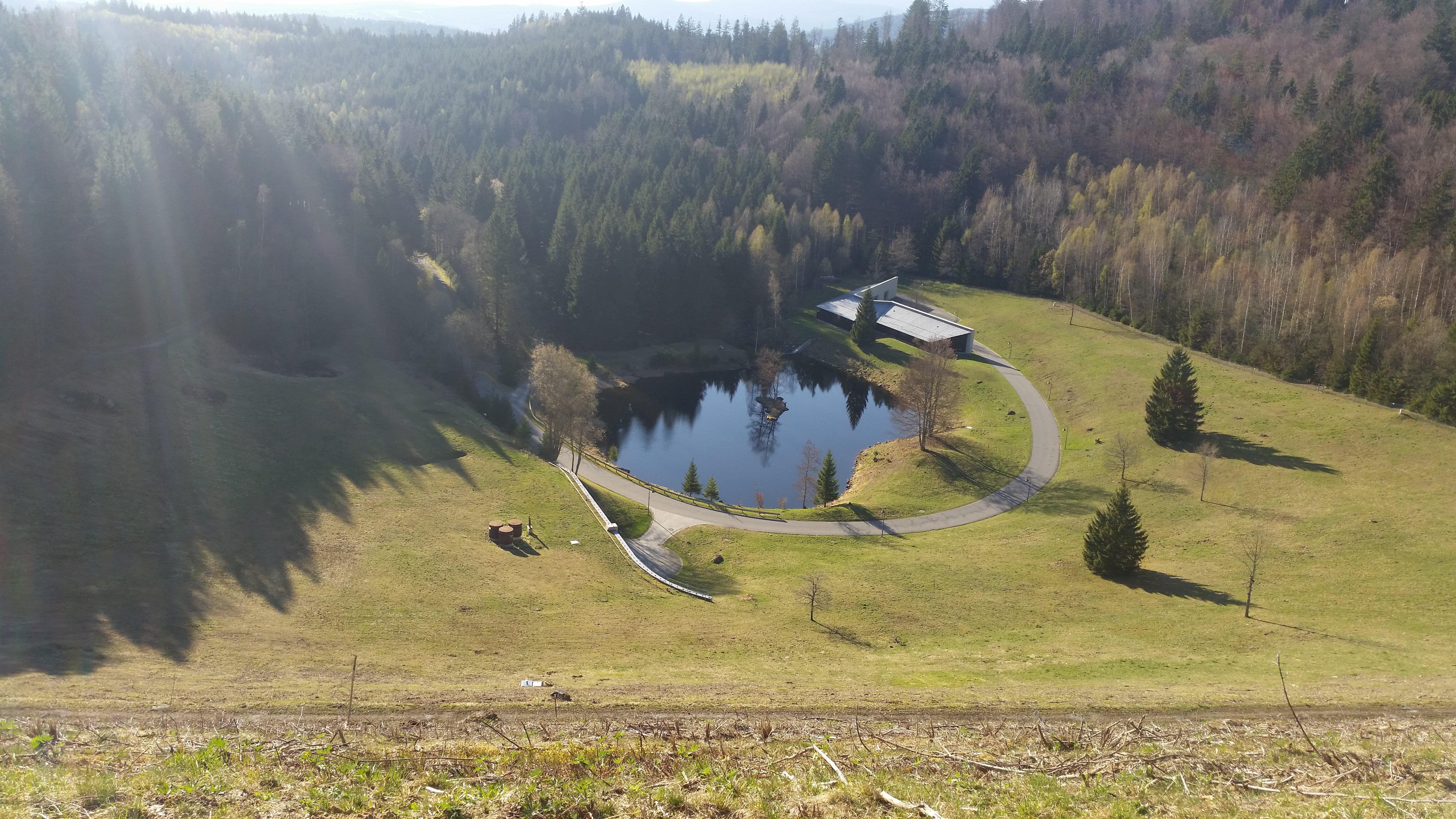 Aussicht vom Staudamm